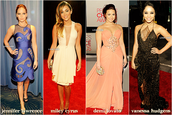 Les People Choice Awards 2012.