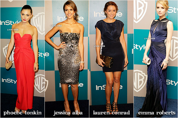 Event, Instyle Golden Globes After party.