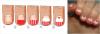 Nail art, cupcakes, paillettes & dégradés de points.