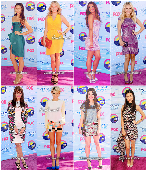 Les Teen Choice Awards 2012.