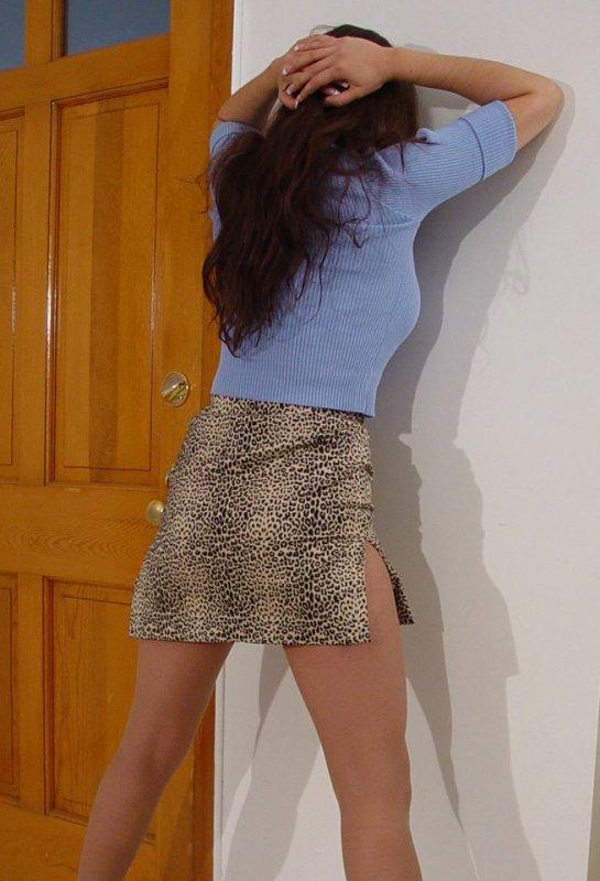 Mini-jupe  talons