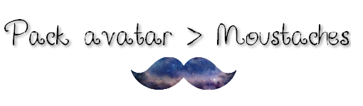 Pack Moustaches by Emma