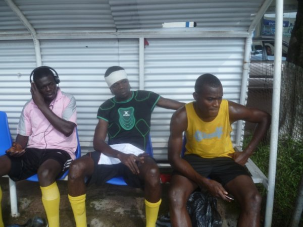 crespo Mulumba avec sa petit amis