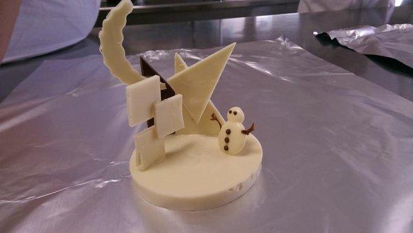 Petite Structure en chocolat