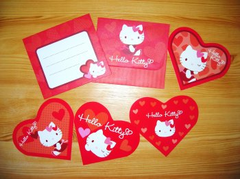 Letter Set HK Collection Heart by Sanrio