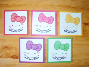 Feuilles HK Collection Colors! by Sanrio
