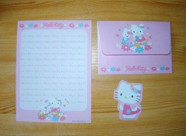 Letter Set HK Collection Flower Garden by Sanrio