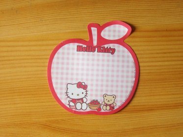 Post-it HK Collection Apple by Sanrio