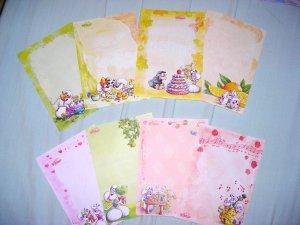 Photo 1 : A4 - Photo 2 : Papier à lettres - Photos 3 à 6 : A5