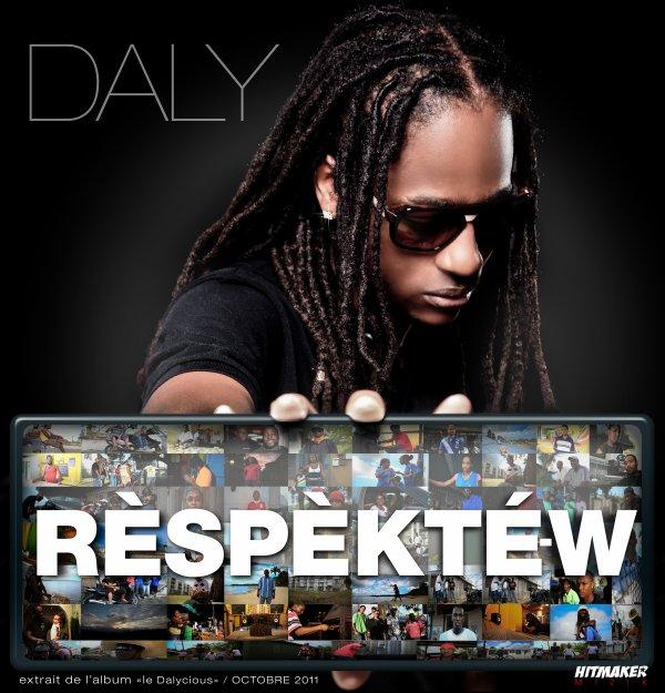RESPEKTE-W  NEW SINGLE  DE DALY  extrait de l'album ''LE DALYCIOUS''   prévu pour octobre 2011  A  TELECHARGER SUR ''RESPEKTE-W '' ENFIN SUR ITUNES,DEEZER ,SSBSTORE,ORANGECARAIBES ET TOUTES LES PLATEFORMES DE TÉLÉCHARGEMENT LÉGAL: THECK LI :-)  http://itunes.apple.com/fr/album/id433397117  http://www.deezer.com/fr/#music/daly/respekte-w-963806  http://www.ssbstore.com/archives/telecharge/album/12/1625/40291/Respekte-w.htm   http://3g.orangecaraibe.com/
