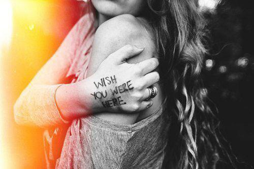 Make a wish now e.e'