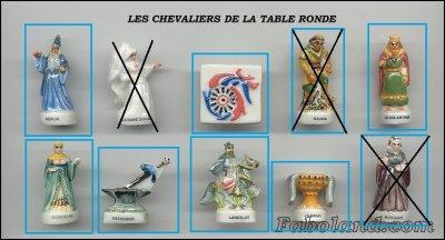 Les chevaliers de la table ronde mes recherches de f ves - Recherche sur les chevaliers de la table ronde ...