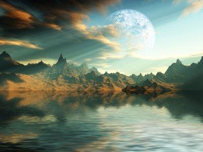 La Terre face à la Mer