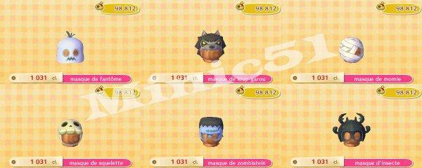 Halloween ! - Animal Crossing New Leaf