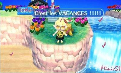 C'est les VACANCES !!!!!!! Défis 1