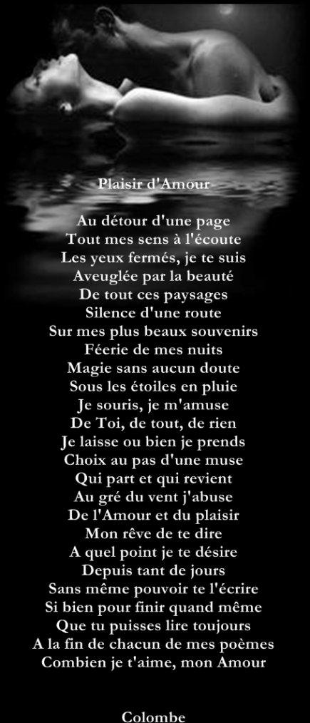 Plaisir d'Amour..