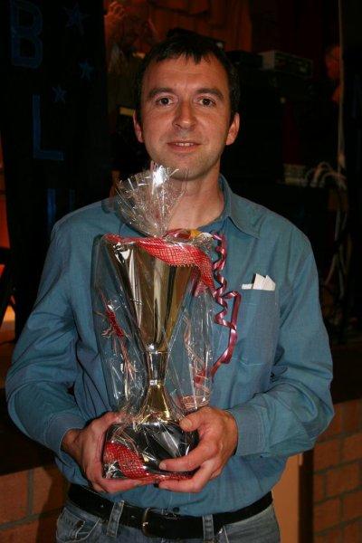Christophe Beaujean champion du club mais aussi du CIF