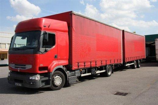 Le nouveau camion du groupement de Béthune