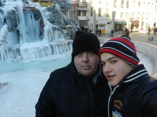 Il a fait aussi froid à Lyon