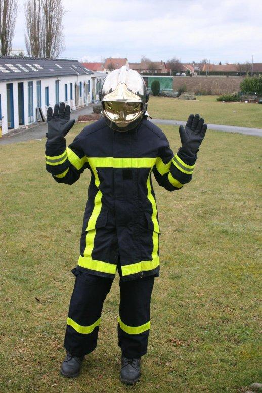 Delphine est passée pompier volontaire