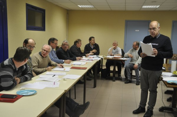 Hier on a parlé classification avec des amateurs de St Omer, le temps a passé trop vite
