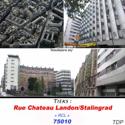 Rue Chateau Landon/Stalingrad