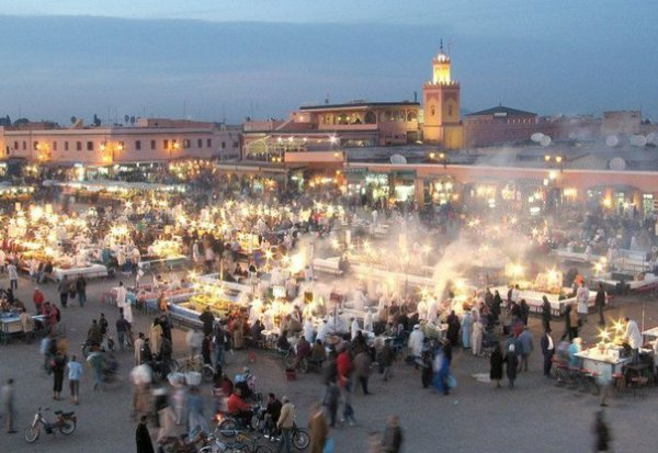 Marrakech morocco beautiful city