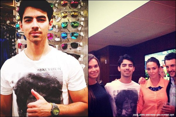 Le 01 Mai 2013 | Joe et Blanda ont été vue à Meatpacking District, NY.