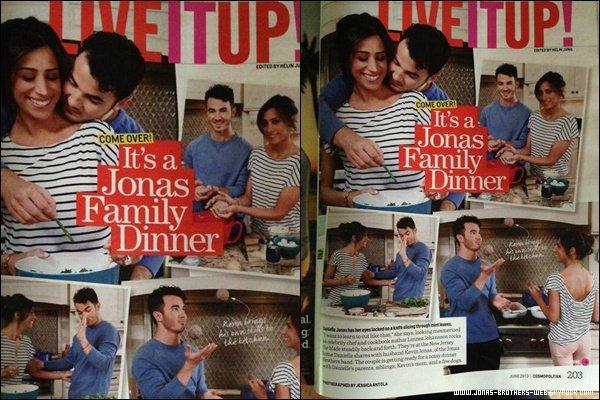 Le 11 Mai 2013 | Joe et Garbo ont été mangé ensemble à Los Angeles.