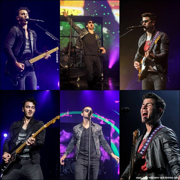 Le 12 Juillet 2013 | Les Jonas au Summer Switch Party, AMP RADIO, Detroit.