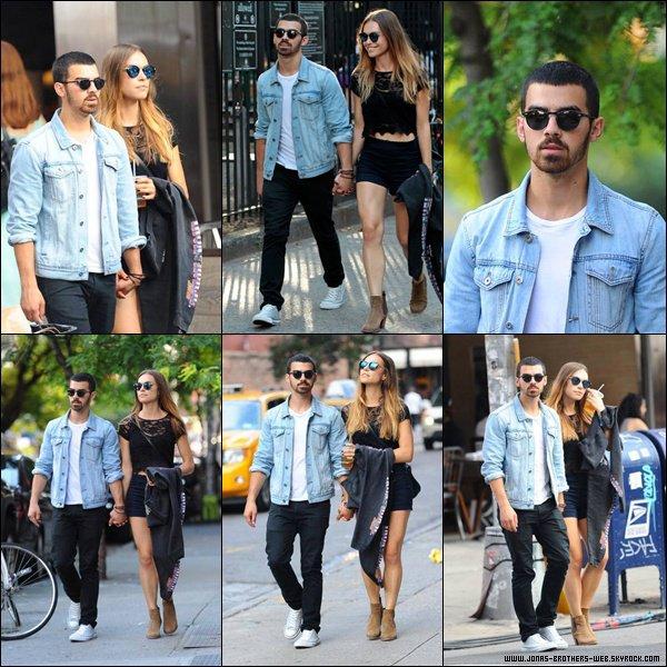 Le 24 Juillet 2013 |  Joe et Blanda dans Soho, New York.