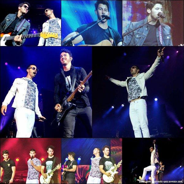 Le 07 Août 2013 | Les Jonas Brothers ont donné un concert à Hot 95.7.