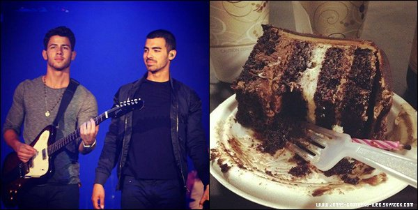 Vidéo | Nick chante à sa façon Happy Birthday pour l'anniversaire de Joe.