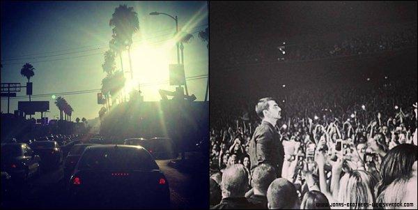 Le 16 Août 2013 | Les Jonas à une fête privé par Huawei, L.A.