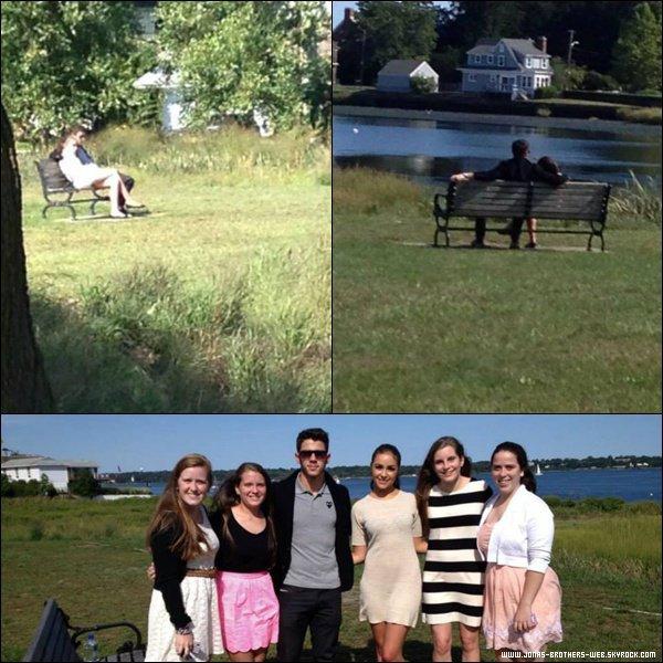 Le 07 Septembre 2013 | Nick et Olivia ce détende dans Rhode Island.