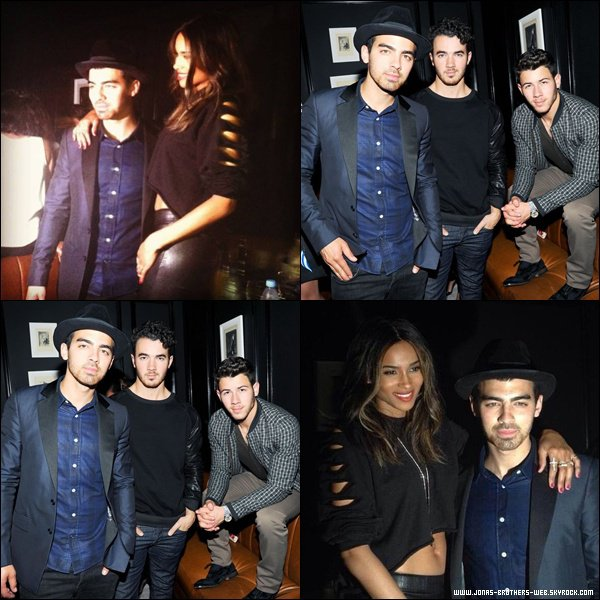 Le 07 Septembre 2013 | Les Jonas Brothers ont été à Prabal Gurung SS14 After Party, NY.