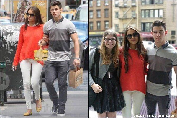 Le 14 Septembre 2013 | Nick et Olivia ont fait du shopping dans New York.