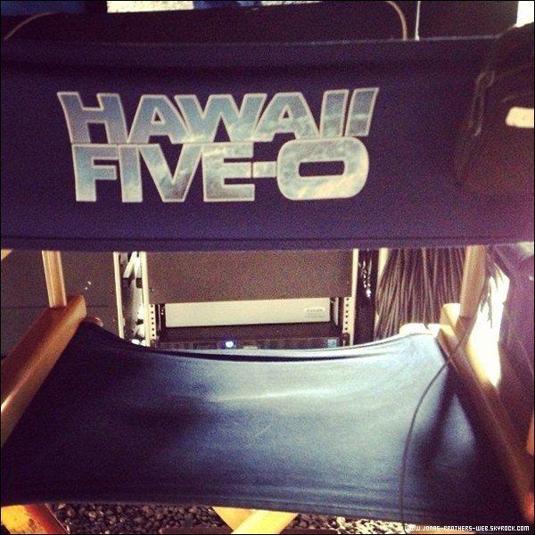 Interview | Les Jonas ont donné une interview sur le tapis rouge de l'avant première de la saison 4 d'Hawaï 5.0.