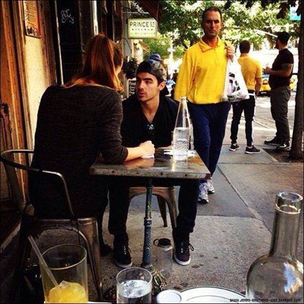 Le 28 Septembre 2013 | Joe et Blanda ont été vue ensemble à New York.