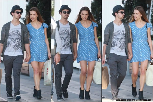 Le 20 Octobre 2013 | Joe et Blanda ensemble à L.A.