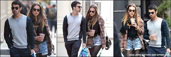 Le 29 Octobre 2013 | Joe et Blanda en amoureux dans New York.