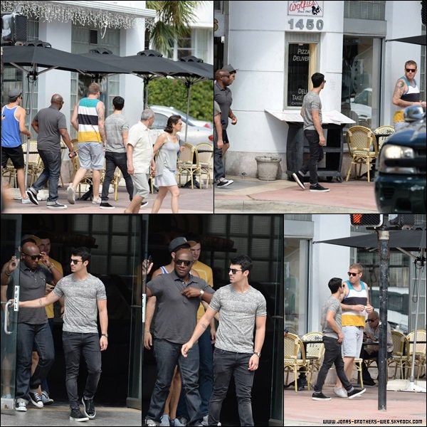 Le 31 Octobre 2013 | Joe et Mickey à South Beach, Miami.