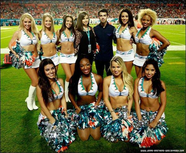 Le 31 Octobre 2013 | Joe est allé au Cincinnati Bengals v Miami Dolphins Game.