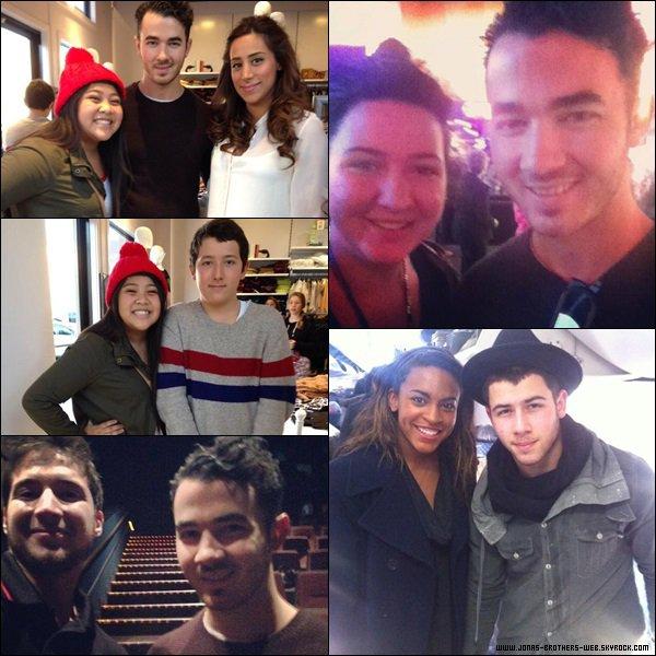 Le 29 Novembre 2013 | Joe et Nick ont été vue quittant Dallas.