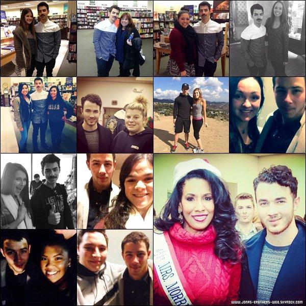 Le 05 Décembre 2013 | Nick, sa tante et sa chérie ont été ensemble à L.A.