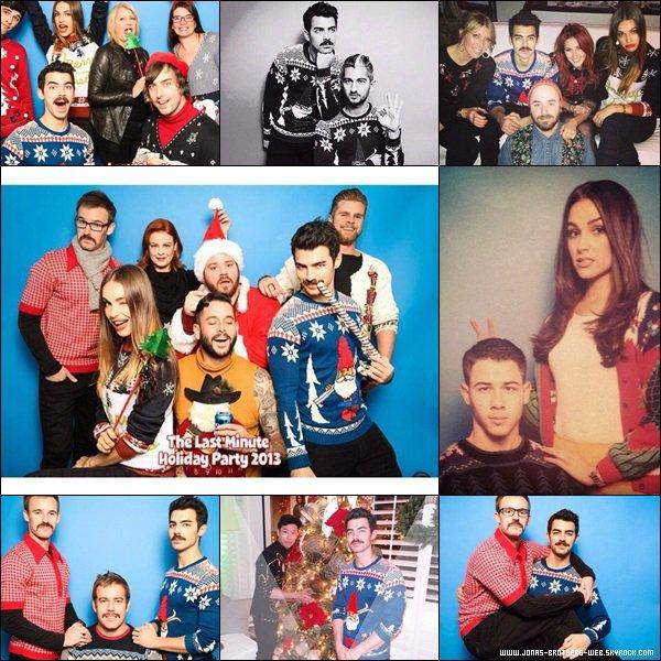 Le 10 Décembre 2013 | Joe organisé une fête pour noël chez lui avec ses amis et Nick.