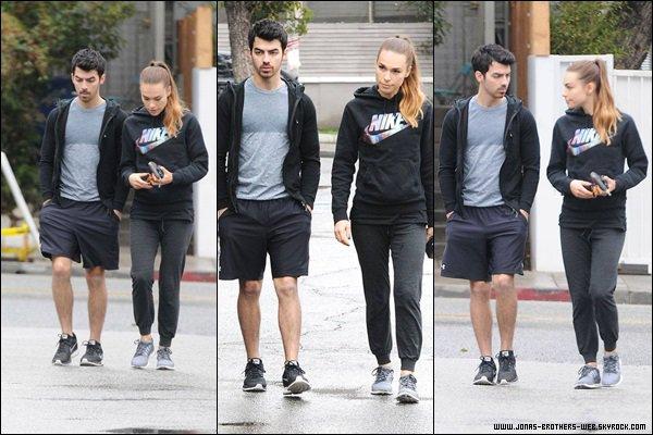 Le 19 Décembre 2013    Joe et Blanda sont allé faire de la gym à L.A.