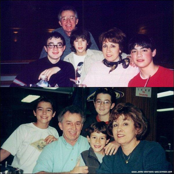 Photos   Denise a posté des photos de son papa disparue depuis très peu de temps et ses enfants.