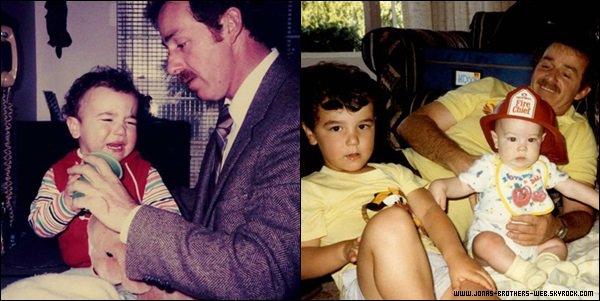 Photos | Denise a posté des photos de son papa disparue depuis très peu de temps et ses enfants.