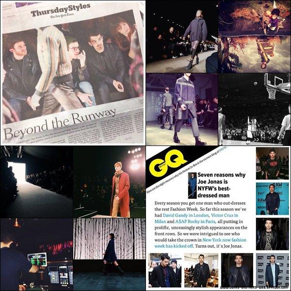 Le 06 Février 2014 | Joe est allé au Duckie Brown Show à New York.